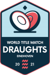 World Title Match Draughts Logo